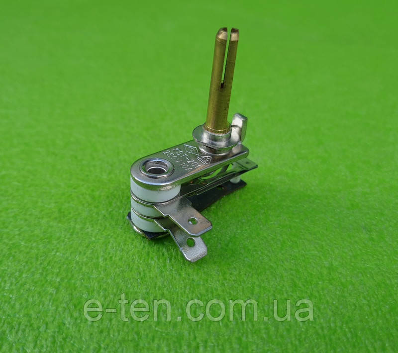 Терморегулятор биметаллический KST-201 / 10А / 250V (стержень h=28мм) для утюгов  (Турция)