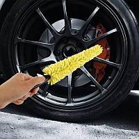 Щетка для мытья колес автомобиля 29см.