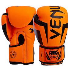 Перчатки боксерские на липучке VENUM (10 унций)
