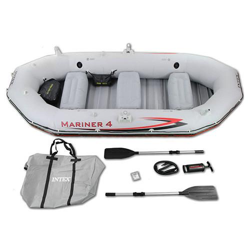 Четырехместная надувная лодка MARINER Intex 68376 328 x 145 x 48 см