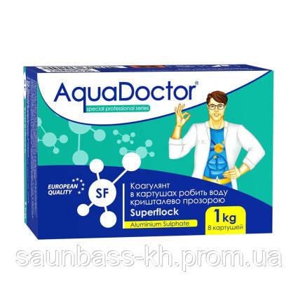 Коагулирующее средство в картушах AquaDoctor Superflock
