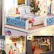 Кукольный дом с мебельной мебелью K-019 Helen The Other Shore DIY, фото 3