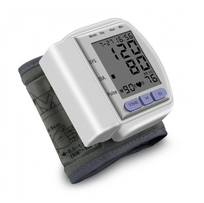 Тонометр на запястье Automatic Blood Pressure Monitort CK 102S (44561)
