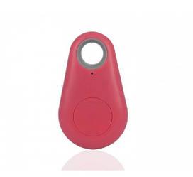 Трекер iTag Bluetooth Брелок Pink