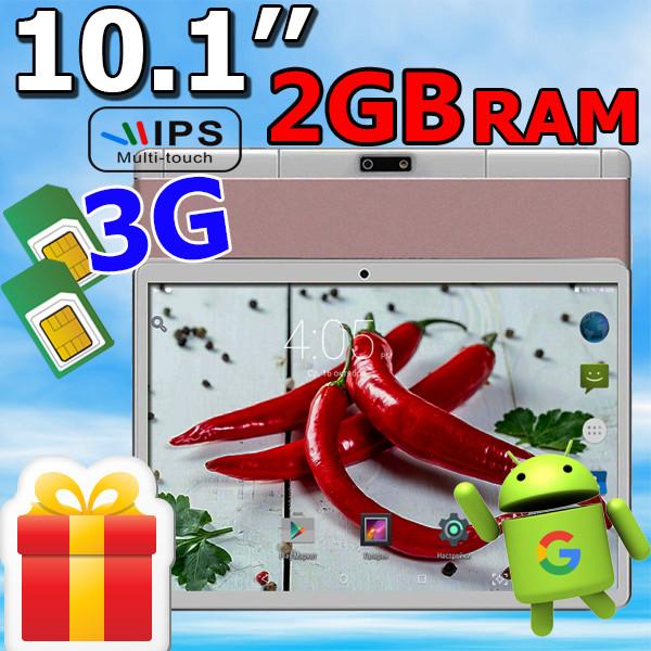 Планшет-телефон  Padgene M 10 (QT-10,1) 3G, 2 SIM  2/16+ ЧЕХОЛ