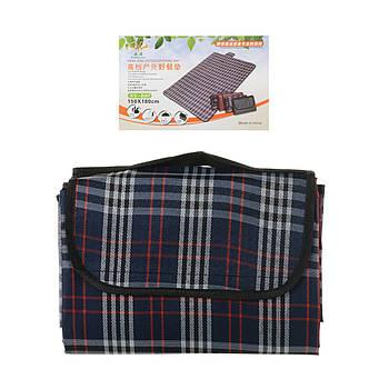 Водонепроницаемый коврикдля пикника кемпинга и пляжа 150*180 см Серый