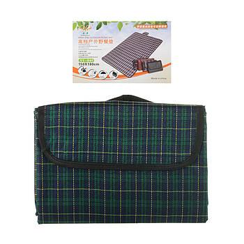 Водонепроницаемый коврикдля пикника кемпинга и пляжа 150*180 см Зеленый