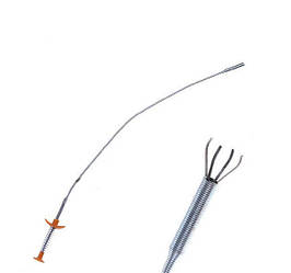 Экстрактор инструмент захват цанговый OMBRA на пружине для мелких компонентов гибкий 60 см