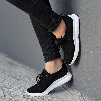 Летние женские кроссовки из черного вентилируемого текстиля GIPANIS 40 р. - 25 см (1185572470), фото 2