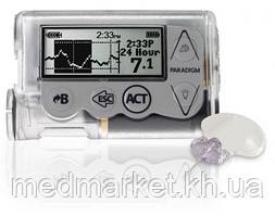 Инсулиновая помпа Medtronic Paradigm VEO ММТ-754 с системой непрерывного мониторирнга глюкозы