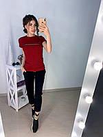 Стильная легкая футболка Gucci S/M/L/XL, фото 1