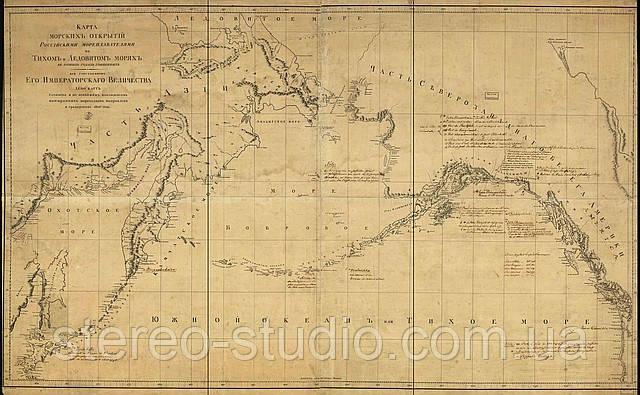 Карта морских открытий