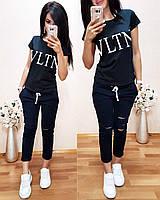 Практичная стильная футболка Valentino S/M/L/XL, фото 1