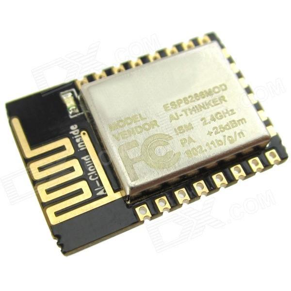 Wi-Fi модуль, трансивер ESP8266 ESP-12F, Arduino