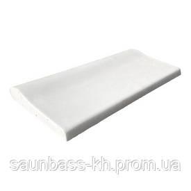 Aquaviva Копинговый камень Aquaviva 250x500x50-25 мм, белый