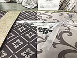 Комплект постельного белья сатин бамбук TM Belizza 200*220 Derin Bej, фото 3