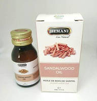 Масло сандала из Пакистана от Hemani 30 мл. ароматическое на основе эфирного масла