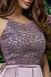 Элегантное женское вечернее платье с юбкой в складку (4расцв)42,44,46р., фото 7