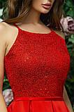 Элегантное женское вечернее платье с юбкой в складку (4расцв)42,44,46р., фото 8