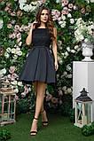 Элегантное женское вечернее платье с юбкой в складку (4расцв)42,44,46р., фото 9