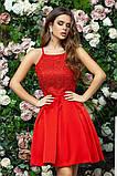 Элегантное женское вечернее платье с юбкой в складку (4расцв)42,44,46р., фото 10