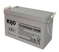 Аккумулятор Kijo 12V 200Ah GEL