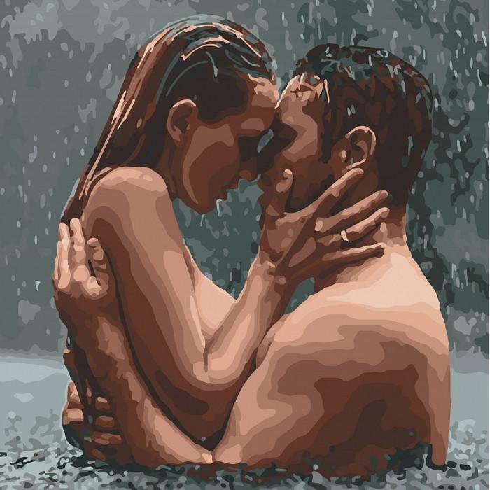 Картина по номерам Идейка - В водовороте страсти 30x30 см (КНО4694)