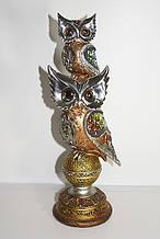 Золотая серия-статуэтка две совы