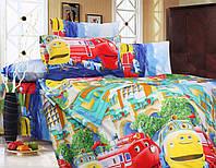 Полуторный детский постельный комплект из ранфорса