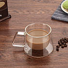 Стеклянная чашка Saval FLY SPRAY Прозрачный 15532673453, КОД: 1082779, фото 3