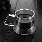 Стеклянная чашка Saval FLY SPRAY Прозрачный 15532673453, КОД: 1082779, фото 4