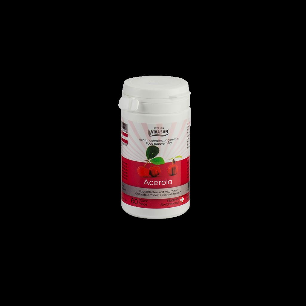 Ацерола / Acerola тропічна вишня в таблетках