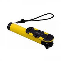 Селфи-монопод Momax Selfie Hero Bluetooth Selfie Pod 70 см Yellow/Black (KMS6D), фото 1