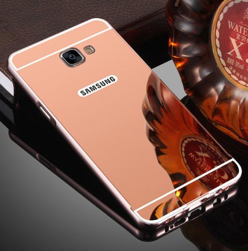 Алюминиевый чехол бампер для Samsung Galaxy A7/A720(2017)