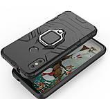 Противоударный бампер с магнитом и кольцом Xiaomi Mi A2 lite/6 Pro, фото 6