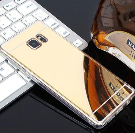 Зеркальный силиконовый чехол для Samsung Galaxy Note 8