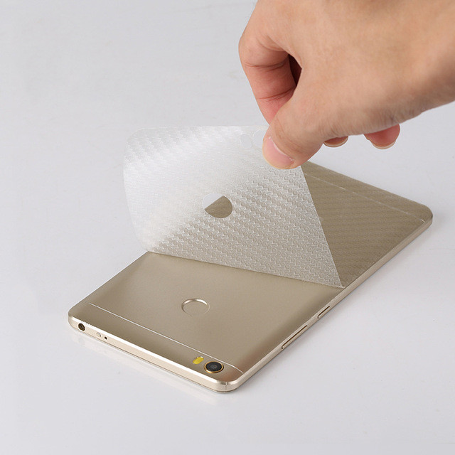 Защитная пленка на заднюю панель телефона Xiaomi Mi Max