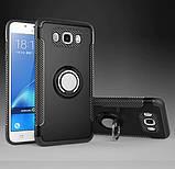Противоударный бампер с магнитом и кольцом для Samsung Galaxy S7 edge, фото 3