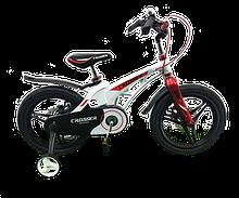 """Двухколесный велосипед Crosser Premium, магниевая рама 18"""", Белый (vol-612)"""