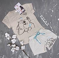 Пижама для девочки с шортами