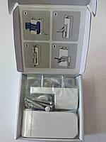 Петля дверна VORNE NEW 14-17-20 мм  біла для ПВХ дверей