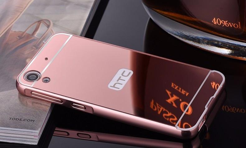Алюминиевый чехол бампер для HTC Desire 628/626