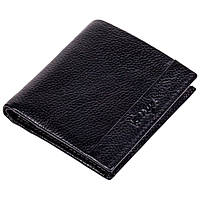 Зажим для денег Karya 0940-45 кожаный черный