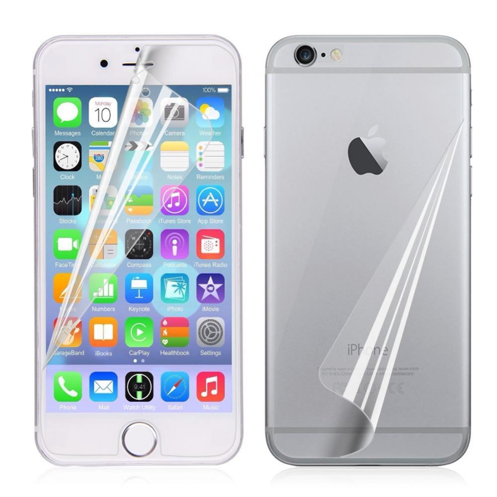 Защитные пленки (на обе стороны) для iPhone 6/6s