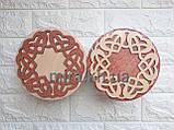Шкатулка кругла Танець сердець (біло-червоний або червоно-біла), фото 2