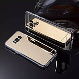 Зеркальный силиконовый чехол для Samsung Galaxy S8, фото 2