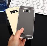 Зеркальный силиконовый чехол для Samsung Galaxy S8, фото 6