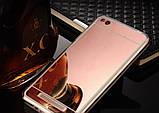Зеркальный силиконовый чехол для Xiaomi Redmi 4A, фото 3