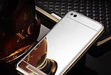 Зеркальный силиконовый чехол для Xiaomi Redmi 4A, фото 5