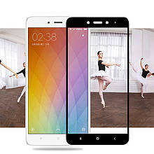 Защитное стекло 2.5D  для Xiaomi Redmi Note 4 (MTK)